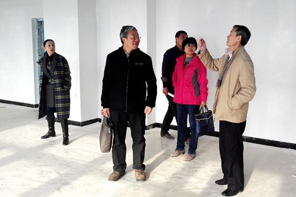 青海师范大学副校长王锋一行来我校调研