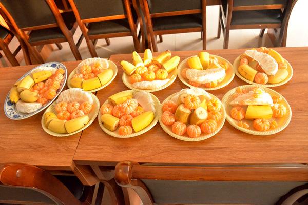 幼儿园饺子拼盘图片