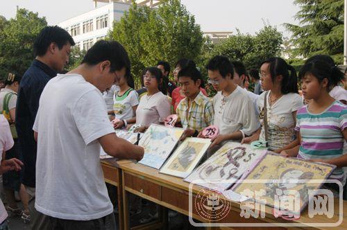 人文学院举办五谷杂粮拼图大赛